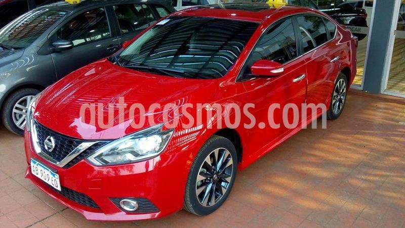Nissan Sentra  SR PURE DRIVE CVT usado (2017) color Rojo precio $1.600.000