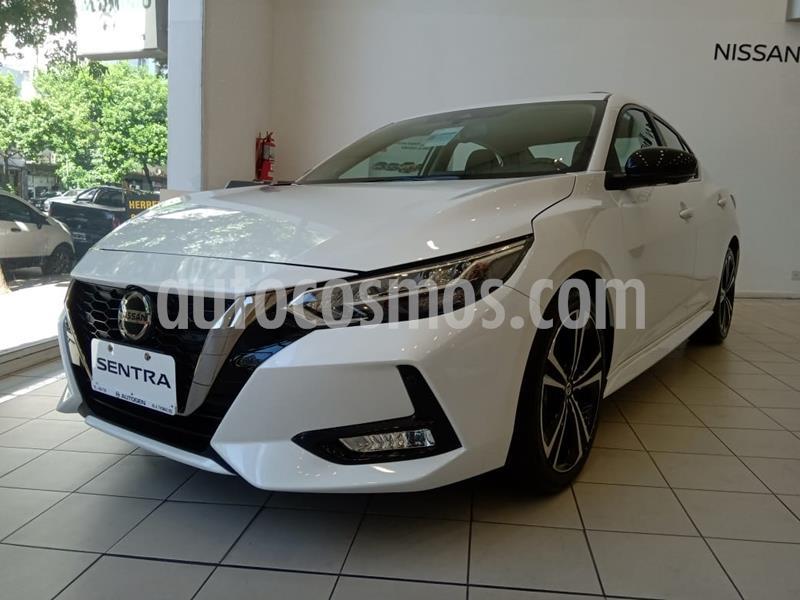 Nissan Sentra SR CVT nuevo color Blanco precio $2.719.900