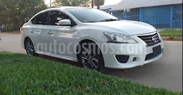 Nissan Sentra SR CVT usado (2014) color Blanco precio $640.000