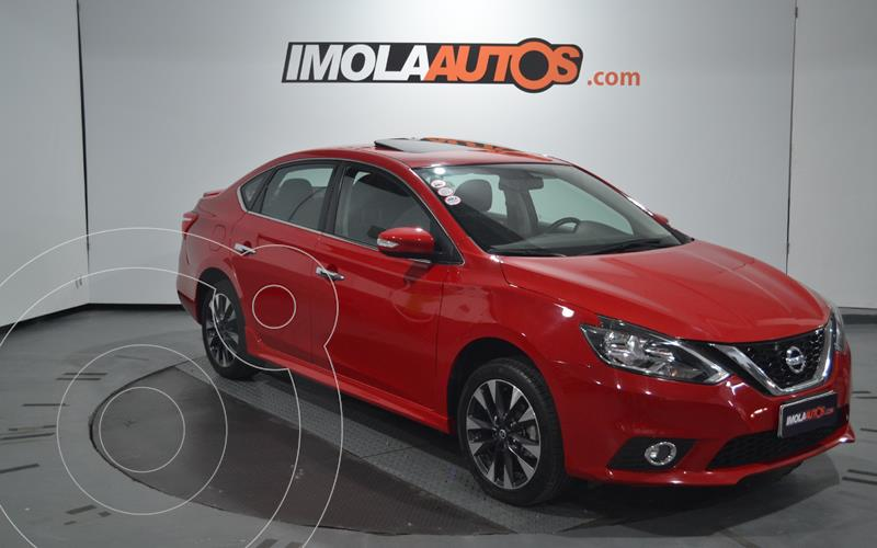 Nissan Sentra SR CVT usado (2018) color Rojo precio $1.700.000