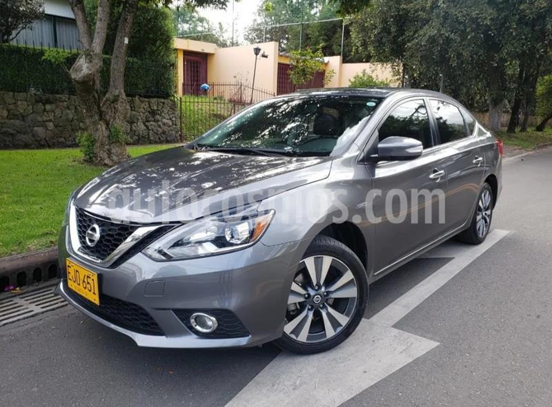 Nissan Sentra Exclusive Aut usado (2018) color Gris precio $57.800.000