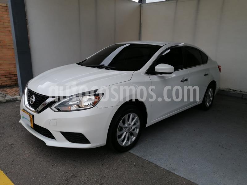Nissan Sentra Sense usado (2017) color Blanco precio $38.990.000