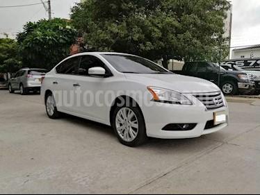 Nissan Sentra Exclusive Aut usado (2016) color Blanco precio $33.000.000