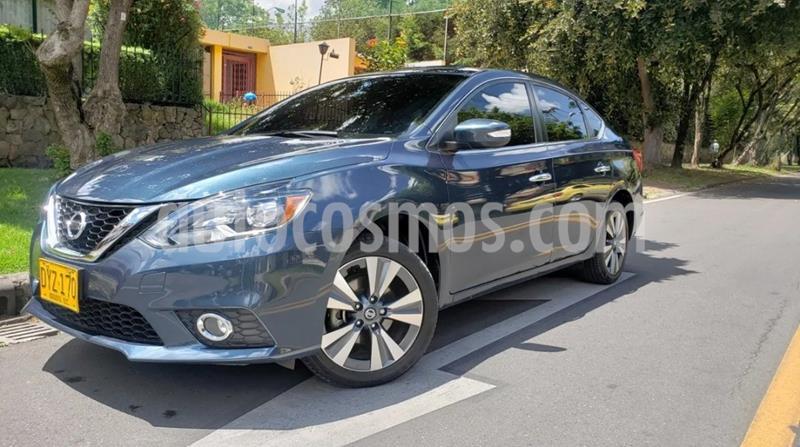 Nissan Sentra Exclusive Aut usado (2017) color Azul precio $56.500.000