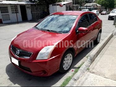 Foto venta Auto Seminuevo Nissan Sentra Custom CVT Xtronic (2011) color Rojo Burdeos precio $132,000