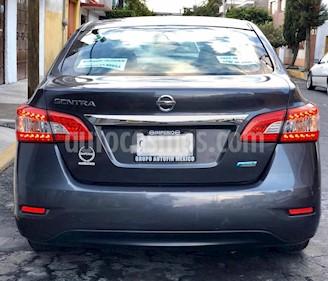 Nissan Sentra Custom CVT Xtronic usado (2013) color Gris precio $135,000