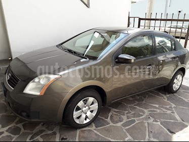 Foto venta Auto usado Nissan Sentra Custom (2008) color Gris precio $85,000