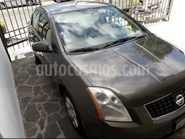 Foto venta Auto usado Nissan Sentra Custom (2008) color Gris precio $81,000