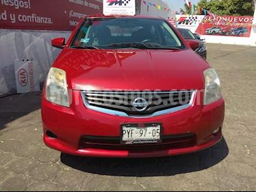Foto venta Auto usado Nissan Sentra Custom (2012) color Rojo Burdeos precio $128,000