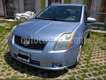 Foto venta Auto usado Nissan Sentra Custom (2009) color Celeste precio $72,500