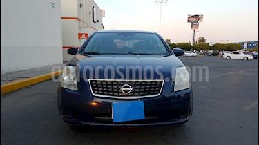 Foto venta Auto usado Nissan Sentra Custom (2008) color Azul precio $82,000