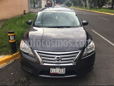 Nissan Sentra Emotion usado (2016) color Gris Oxford precio $165,000
