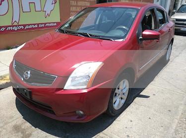 Foto venta Auto usado Nissan Sentra Emotion (2012) color Rojo Burdeos precio $109,000