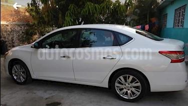 Nissan Sentra Exclusive Aut NAVI usado (2016) color Blanco precio $230,000