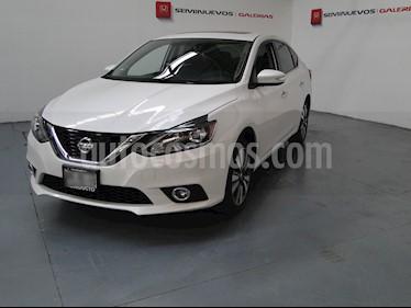 Foto venta Auto usado Nissan Sentra Exclusive Aut NAVI (2018) color Blanco precio $315,900