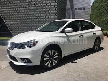 Foto venta Auto usado Nissan Sentra Exclusive Aut NAVI (2018) color Blanco precio $280,000