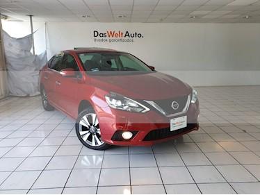 Foto venta Auto usado Nissan Sentra Exclusive Aut NAVI (2017) color Rojo Burdeos precio $244,900