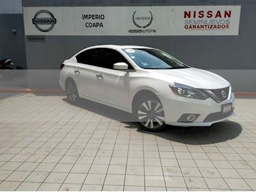 foto Nissan Sentra Exclusive Aut NAVI usado (2018) color Blanco precio $319,000