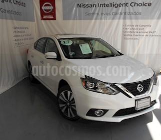 Foto venta Auto Seminuevo Nissan Sentra Exclusive Aut  (2018) color Blanco precio $300,000