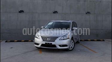 Foto venta Auto usado Nissan Sentra Exclusive Aut (2013) color Plata precio $145,000