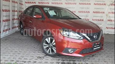 Foto venta Auto usado Nissan Sentra Exclusive Aut  (2017) color Rojo Burdeos precio $239,000