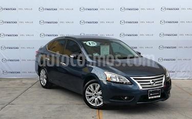 Foto venta Auto Seminuevo Nissan Sentra Exclusive NAVI Aut (2018) color Azul precio $200,000