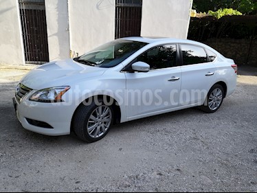 Foto venta Auto usado Nissan Sentra Exclusive NAVI Aut (2015) color Blanco precio $194,000
