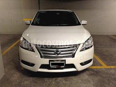 Nissan Sentra Exclusive NAVI Aut usado (2015) color Blanco Perla precio $167,000