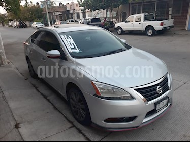 Nissan Sentra Exclusive NAVI Aut usado (2013) color Gris Oxford precio $155,000