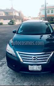 Nissan Sentra Exclusive NAVI Aut usado (2013) color Azul Electrico precio $180,000