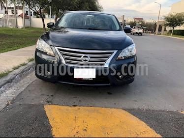 Nissan Sentra Exclusive NAVI Aut usado (2015) color Azul precio $205,000