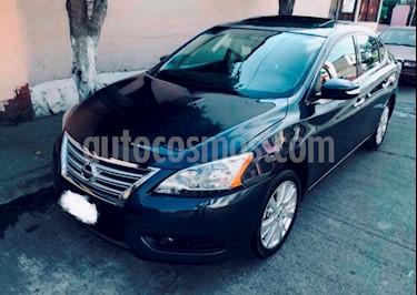 Nissan Sentra Exclusive NAVI Aut usado (2013) color Azul Electrico precio $165,000