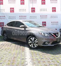 Foto venta Auto Seminuevo Nissan Sentra Exclusive NAVI Aut (2018) color Acero precio $314,900