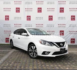 Nissan Sentra Exclusive NAVI Aut usado (2018) color Blanco precio $315,000