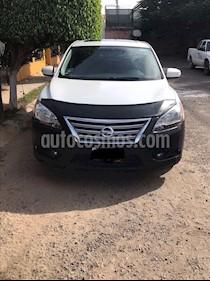 Nissan Sentra Exclusive NAVI Aut usado (2013) color Blanco precio $160,000