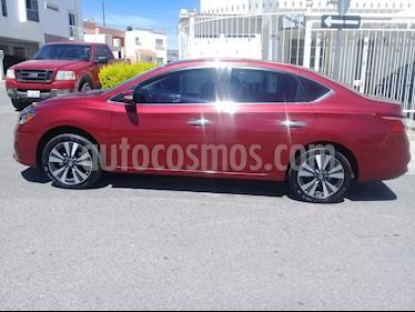Foto venta Auto usado Nissan Sentra Exclusive NAVI Aut (2018) color Rojo precio $292,000