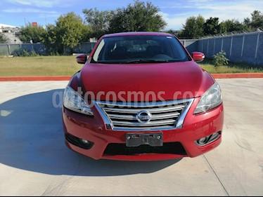 foto Nissan Sentra Exclusive NAVI Aut usado (2015) color Rojo precio $170,000