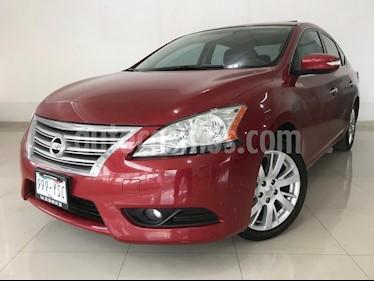 Foto venta Auto usado Nissan Sentra Exclusive NAVI Aut (2013) color Rojo Burdeos precio $144,900
