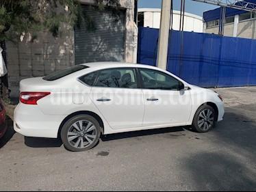 Nissan Sentra Exclusive NAVI Aut usado (2018) color Blanco precio $253,000