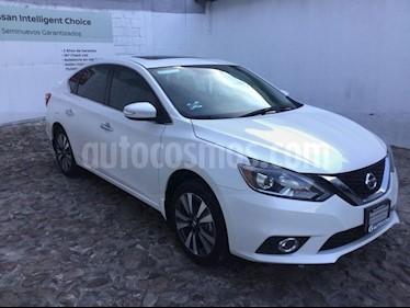 Foto venta Auto Seminuevo Nissan Sentra EXCLUSIVE NAVI CVT (2018) color Blanco precio $315,000