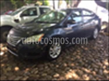 Nissan Sentra EXCLUSIVE NAVI CVT usado (2015) color Azul Electrico precio $190,000