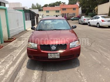 Nissan Sentra LE Aut usado (2005) color Rojo precio $75,000