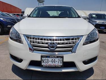 Nissan Sentra Exclusive Aut usado (2013) color Blanco Perla precio $129,000