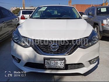 Nissan Sentra Exclusive NAVI Aut usado (2017) color Blanco precio $255,000