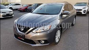 Nissan Sentra 4p Advance L4/1.8 Aut usado (2017) color Gris precio $210,000