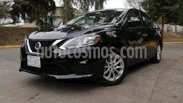 Nissan Sentra 4P SENSE TM6 A/AC. RA-16 usado (2018) color Negro precio $233,000