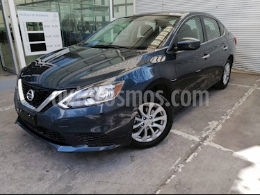 Nissan Sentra Sense usado (2018) color Azul precio $230,000