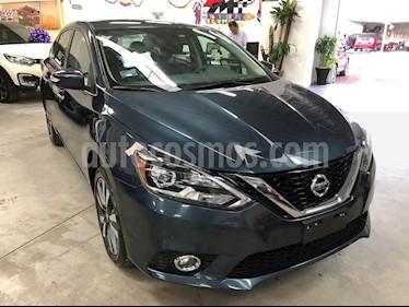 Nissan Sentra Exclusive NAVI Aut usado (2018) color Azul Oriental precio $269,000