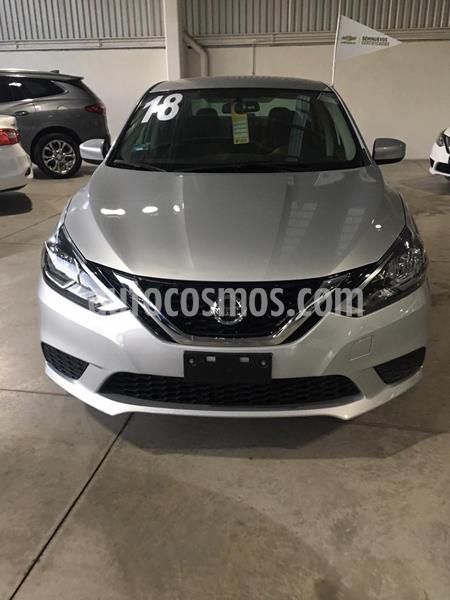 Nissan Sentra Sense usado (2019) color Plata Dorado precio $185,800