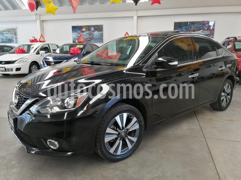 Nissan Sentra Exclusive NAVI Aut usado (2017) color Negro precio $220,000
